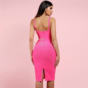 Strappy Sleeveless Midi Bandage Dress PF0904 4 in wolddress