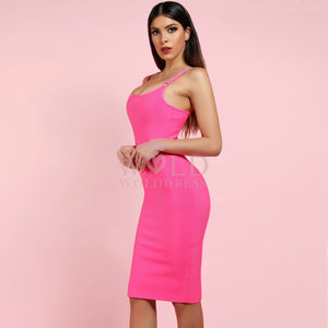 Strappy Sleeveless Midi Bandage Dress PF0904 3 in wolddress