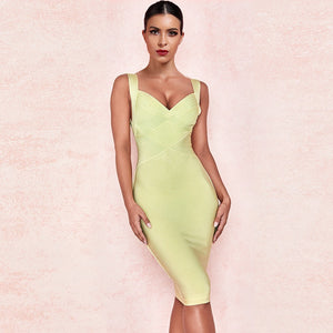 Strappy Sleeveless Elegant Mini Bandage Dress PF19114 1 in wolddress