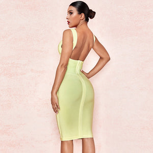 Strappy Sleeveless Elegant Mini Bandage Dress PF19114 2 in wolddress