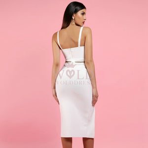 Strappy Sleeveless Slit Mini Bandage Dress PP1114 3 in wolddress