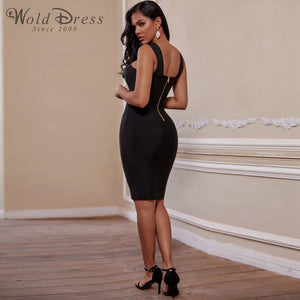 Halter Sleeveless Hollow Out Mini Bandage Dress PP19188 3 in wolddress