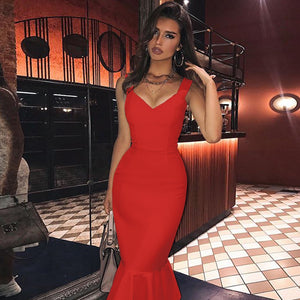 Fishtail Over Knee Bandage Dress PP19352 10 in wolddress