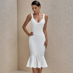 Fishtail Over Knee Bandage Dress PP19352