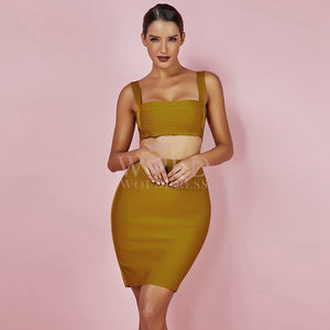 Strappy Sleeveless Cut Out Mini Bandage Set PPYF0002 2 in wolddress