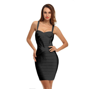 Strappy Sleeveless Striped Mini Bandage Dress PQH437 15 in wolddress