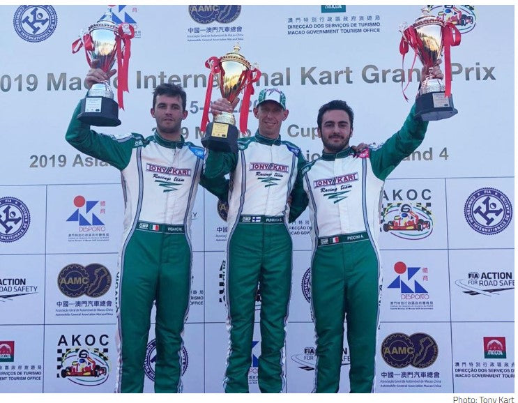 Tony Kart Shifters dominate the Macau International Kart Grand Prix