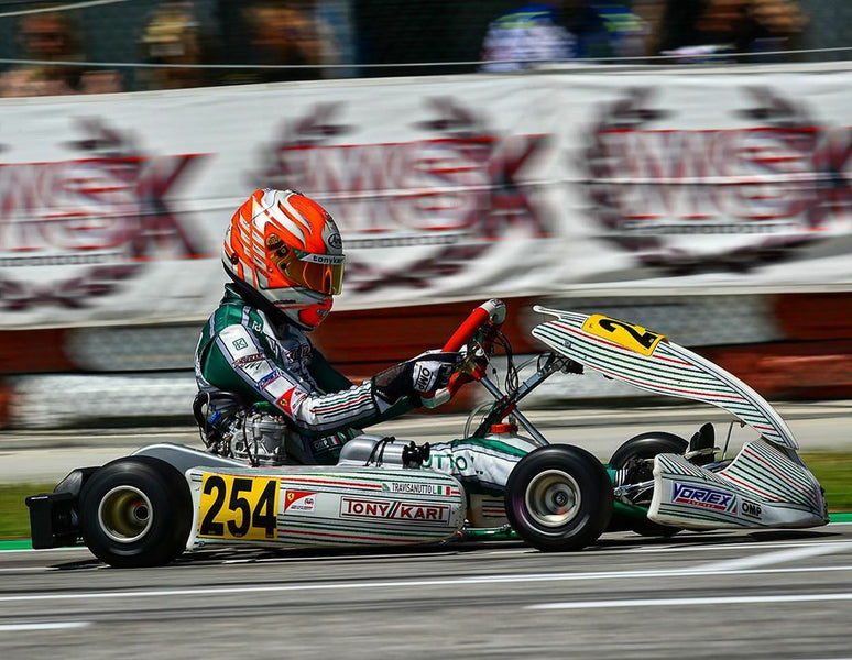 Tony Kart ready for the last round of The Champions Of The Future