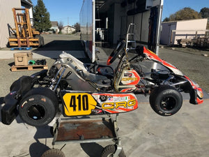 2017 CRG Road Rebel 125 Shifter Kart Rolling Chassis