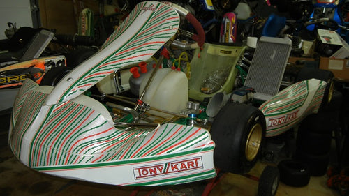 2017 OTK Tony Kart with Vortex ROK GP single speed engine package