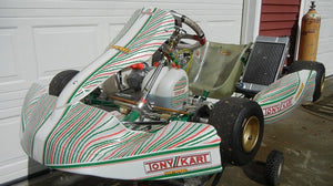 2018 OTK Tony Kart fit with 125 Vortex ROK Shifter Engine