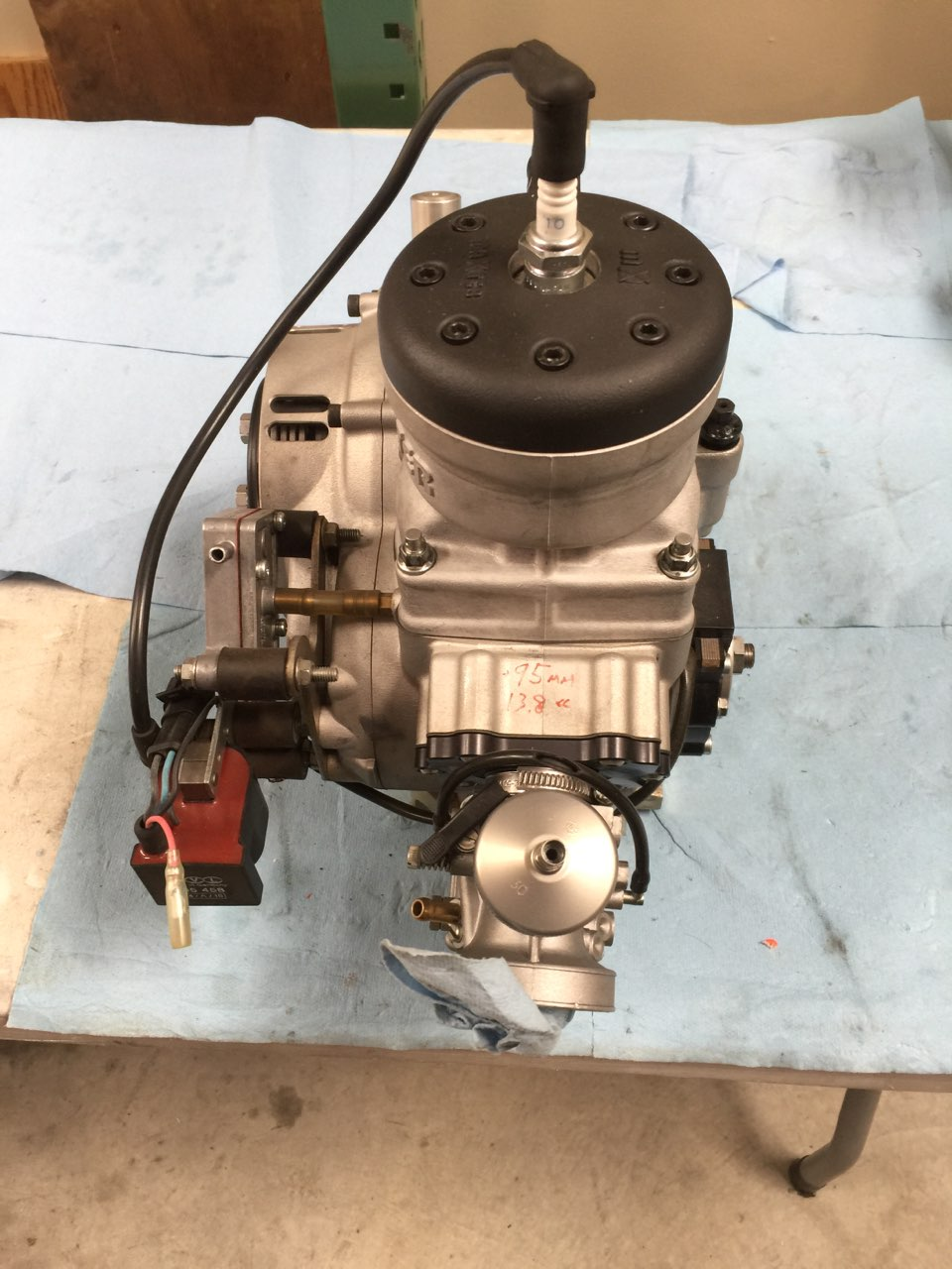 Maxter KZ engine