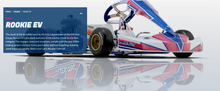 Load image into Gallery viewer, 2020 OTK Rookie Cadet- Tony Kart, FA Kart, Kosmic and Exprit Karts available!