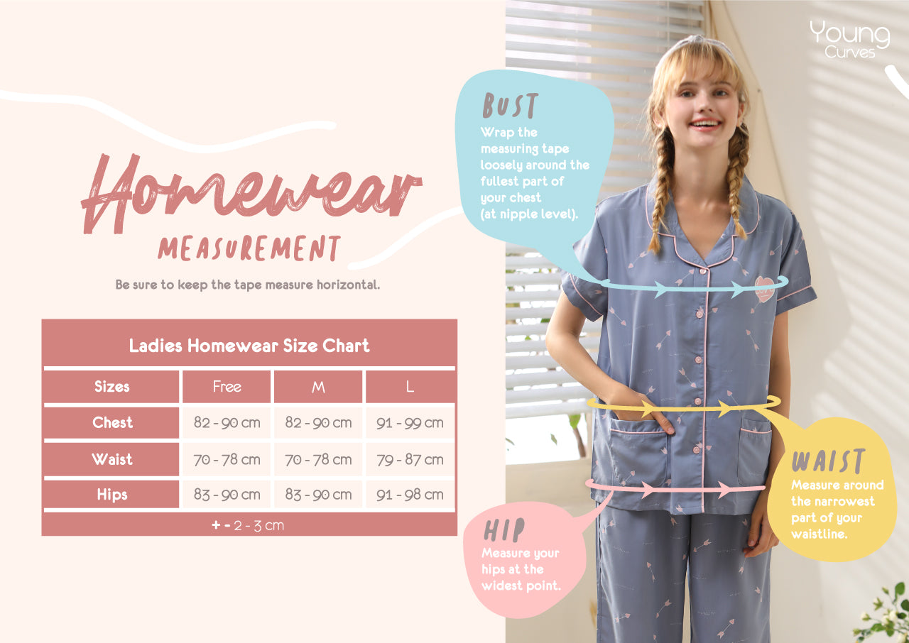 Young Curves Homewear Set 2nd pc at $7.70