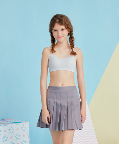 Little Seamless Cami Crop Junior Vest - Young Hearts Lingerie