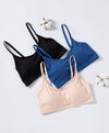 Cotton Spandex Bralette with Back Hook