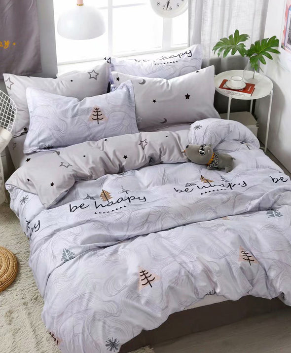 Artistic INS-Style Bedsheet Set