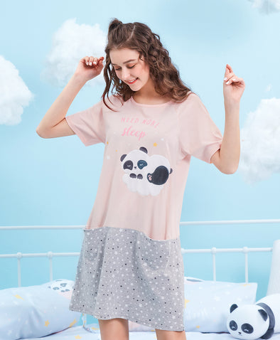Dreaming Panda Sleep Dresses