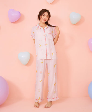 Dreaming Rabbit Pajama Set