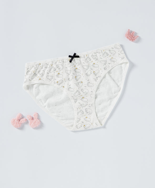Lazy Cat Graphic 5-pack panties