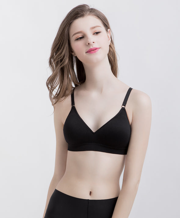 Basic Triangle Seamless Wireless Bra