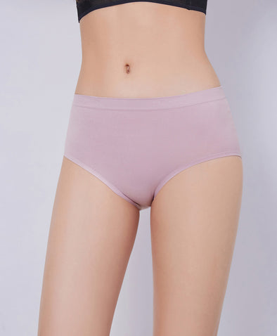 Super Stretchable Seamless Midi Panties - Young Hearts Lingerie