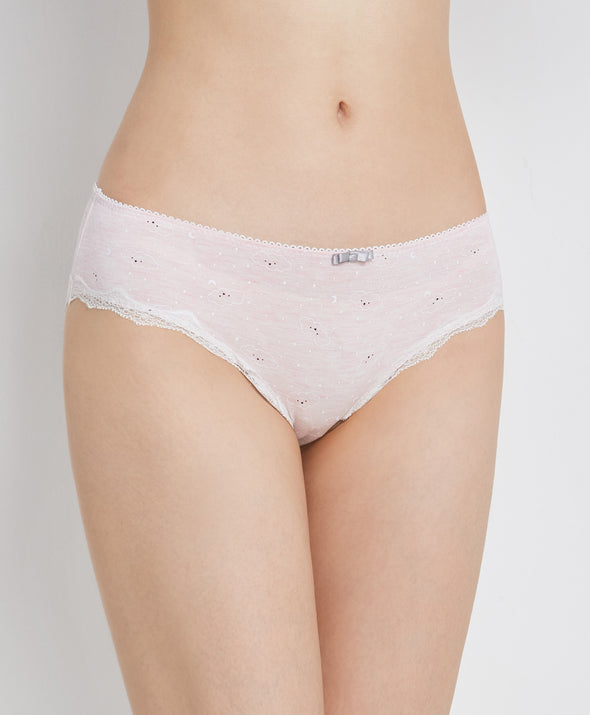 Melange Lover Hipster Panties - Young Hearts Lingerie