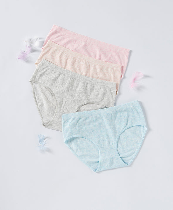 Soft Stretchable Seamless Midi Panties
