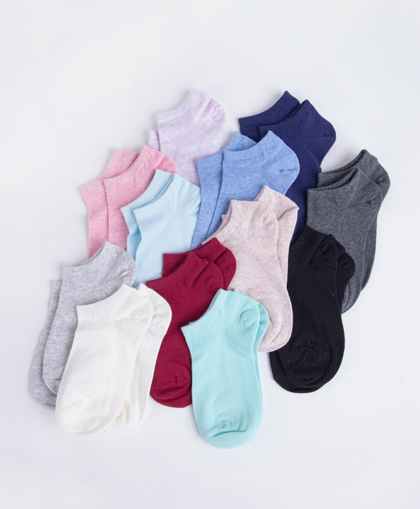 Short Antimicrobial Ladies Socks - Young Hearts Lingerie