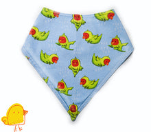 Load image into Gallery viewer, Busy Parrot Bandana Bib