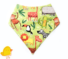 Load image into Gallery viewer, Jungle Journey Bandana Bib