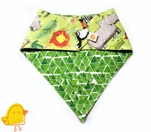 Jungle Journey Bandana Bib