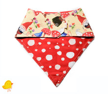 Load image into Gallery viewer, Gnome Party Bandana Bib