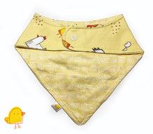 Load image into Gallery viewer, Cluck! Bandana Bib