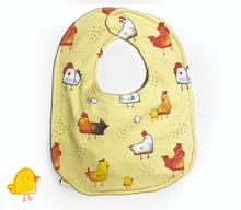 Load image into Gallery viewer, Cluck! Big Baby Bib