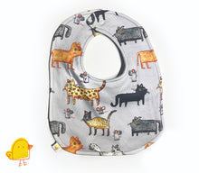 Load image into Gallery viewer, Meow! Big Baby Bib