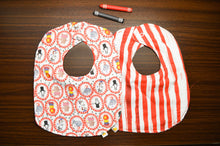 Load image into Gallery viewer, Circus Time Big Baby Bib