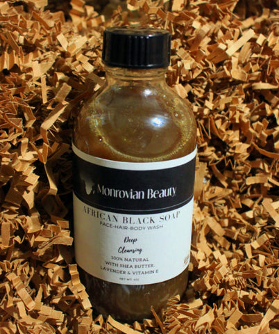 African Black Soap Wash