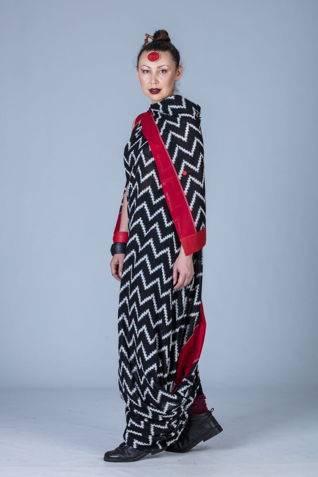 Deril-Double Ikat Dress