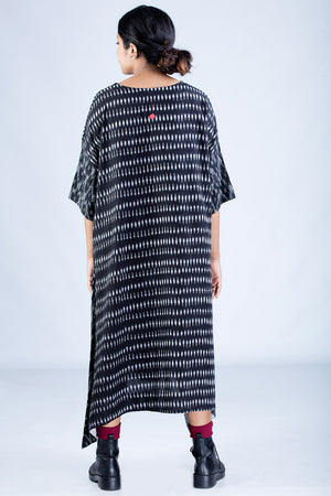 Black Ikat Dress - KARL