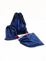 Produce Bags (Set of 3) - Navy Blue