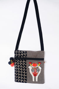 Pongal Sling Bag Large  - Pattern