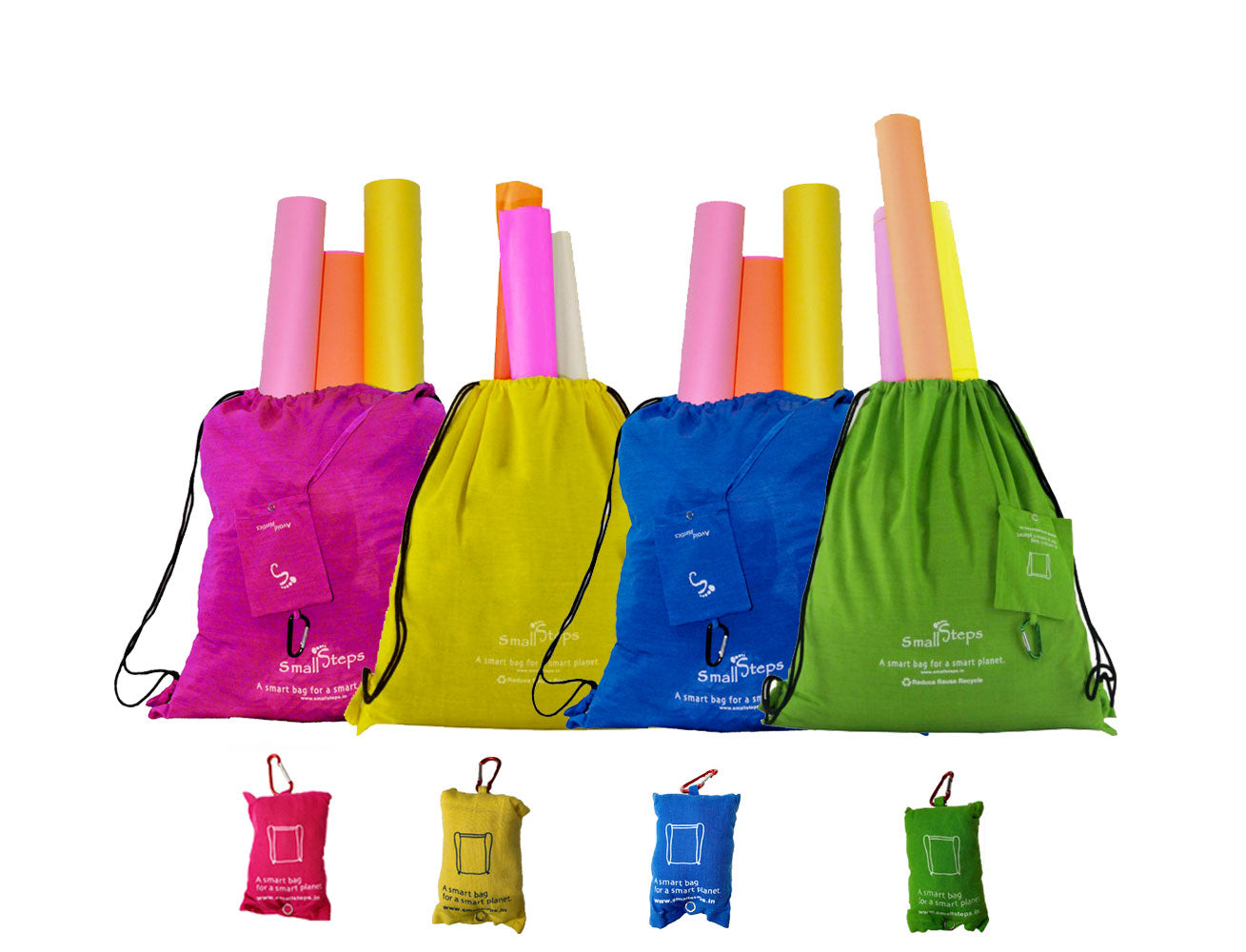 Back Pack (Set of 4) Cotton