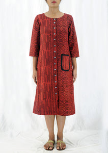 Heera - Hand Block Print Dress