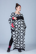 Jiftan-Double Ikat Dress
