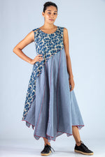 Blue Upycle Dress - NAISHA