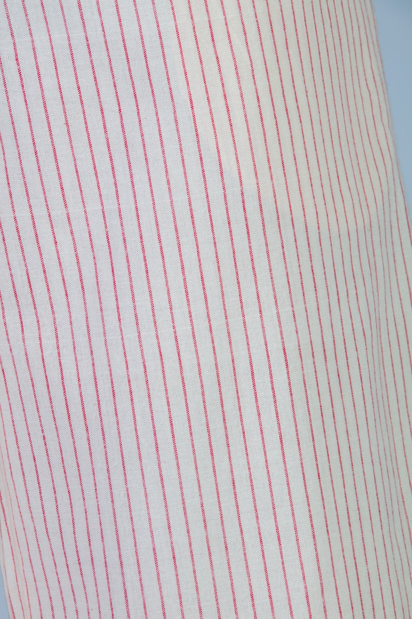 Red striped Organic cotton Pants - NILA - Upasana Design Studio