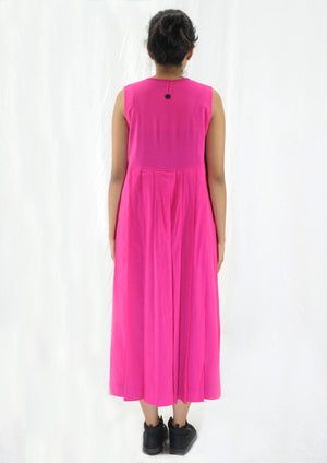 Pink Organic cotton Dress - NAVYA
