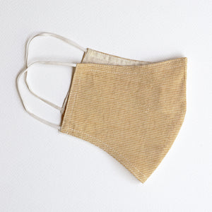Neem Organic Cotton mask fitted with elastic (RS 100 each) - Upasana Design Studio