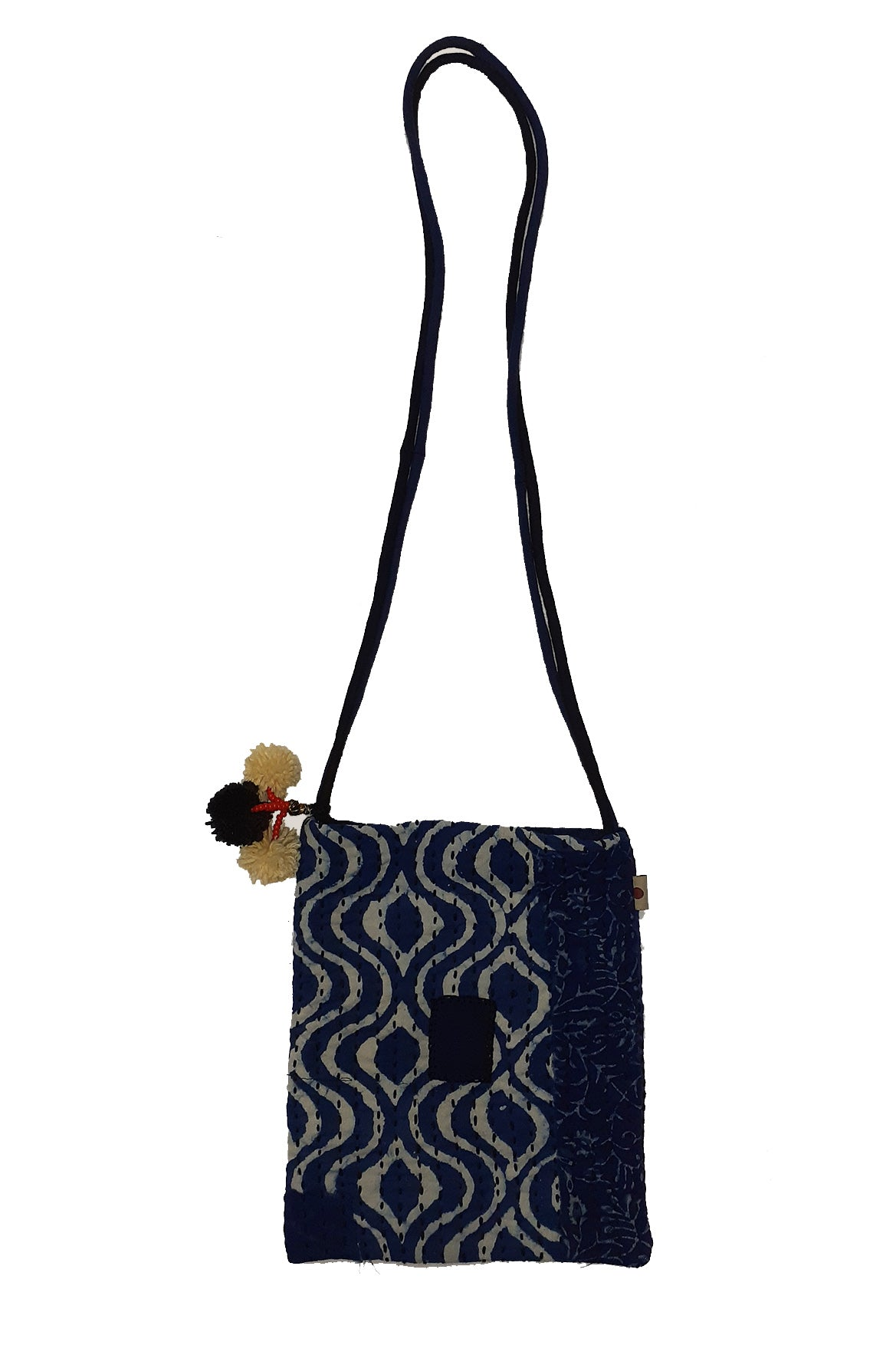 Upcycle Organic cotton Sling bag  - PAVAN